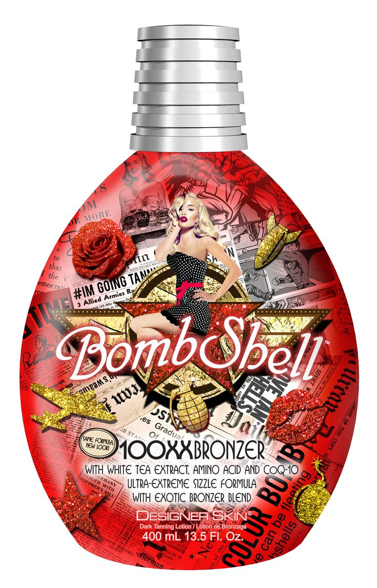 Bronzer Plus Tingle Tanning Bed Lotions