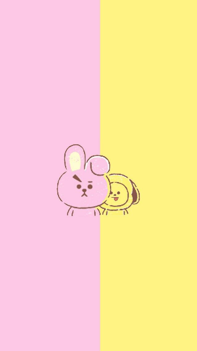 Cute Bts Bt21 Wallpaper Bt21 🌟🌙 Shooky Cooky Tata Chimmy Mang Koya Rj