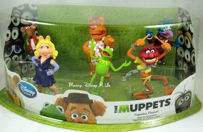 Disney Store The Muppets Pvc Figurine Figure Playset 6 Pc