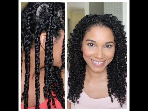 3 Strand Twist Out Demo + Results - YouTube Her hair is more like my grade, so I will try her version first.