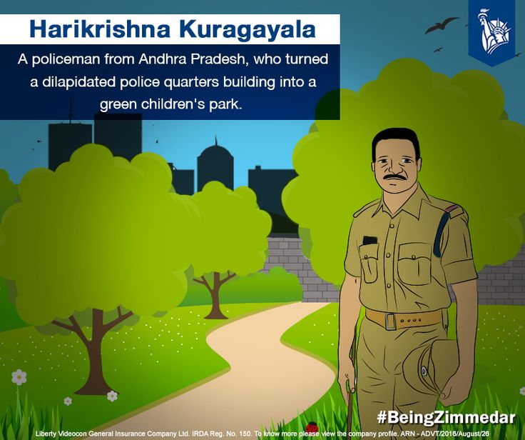 From converting a dilapidated section of police quarters into a children's park to transforming a police training centre into a greener space and planting over 2500 trees across Kadappa- Andhra Pradesh, Harikrishna Kuragayala has set high standards for everyone around. #BeingZimmedar