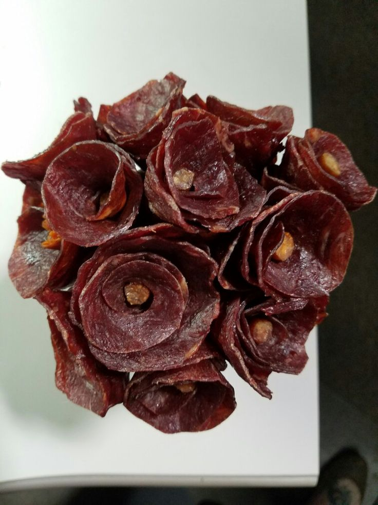 Beef Jerky roses