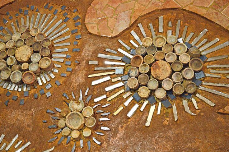 Mosaic art Rabbit Hole