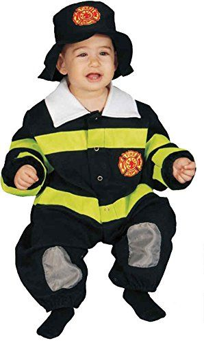 UHC Baby's Firefighter Uniform Infant Toddler Fancy Dress Halloween Costume, 9-12M * Find out @