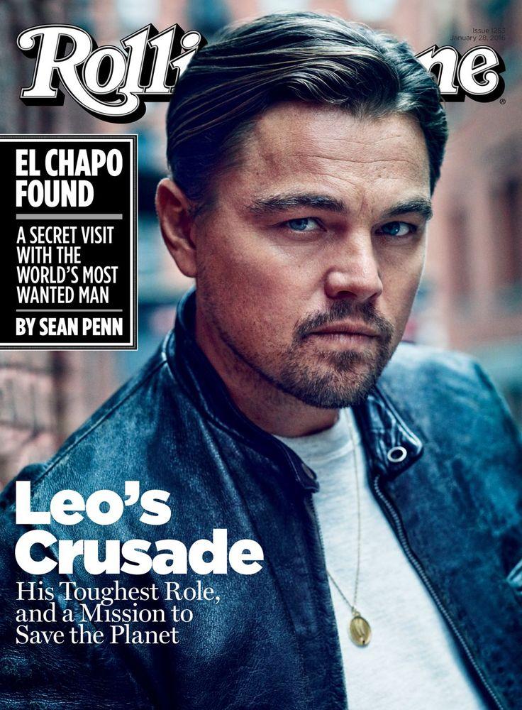 Leonardo Dicaprio on the January 28, 2016 cover.