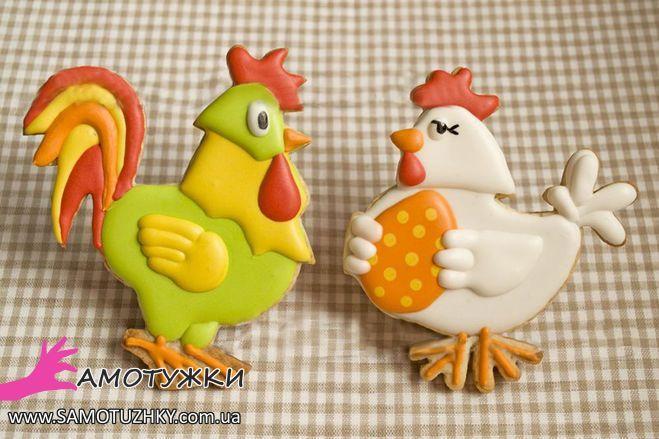 """Пасхальное печенье """"Курочки и цыплята"""". 25 идей - Самостоятельно"""