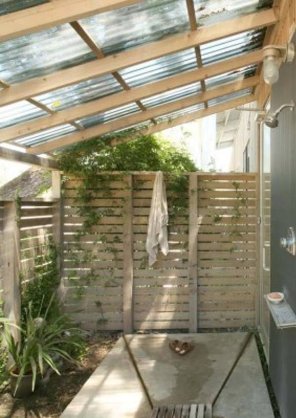 47 Awesome outdoor bathrooms leaving you feeling refreshed More