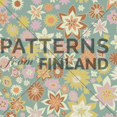 Seinäruusuby Kahandi Design   #patternsfromagency #patternsfromfinland #pattern #patterndesign #surfacedesign #printdesign #kahandidesign