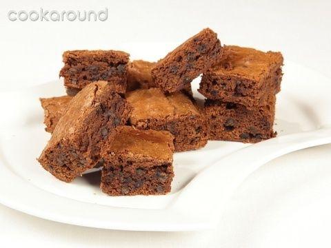 Brownies triplo cioccolato: Ricette Dolci | Cookaround