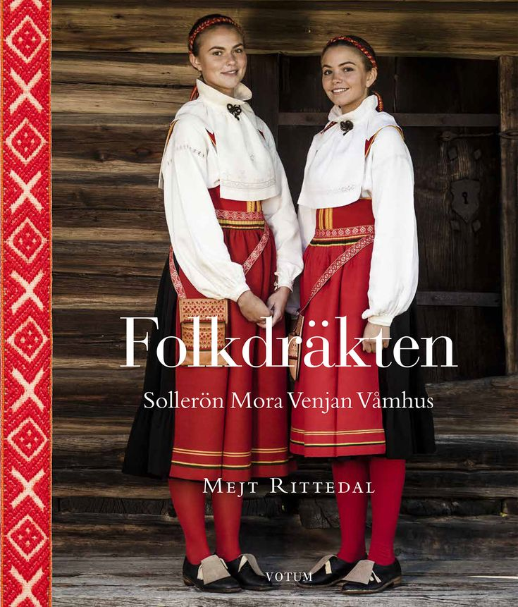 A quite wonderful book, on the subject of folk costumes of the 4 parishes Mora, Sollerön, Venjan and Våmhus in Dalarna, Sweden. Including full scale patterns! <3 <3 <3 http://votumforlag.se/produkt/folkdrakten/