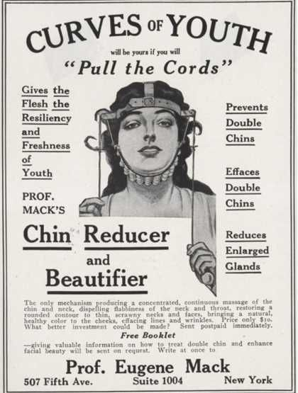 Maybe we should use this in stead of plastic surgery? #vintage #advertisements