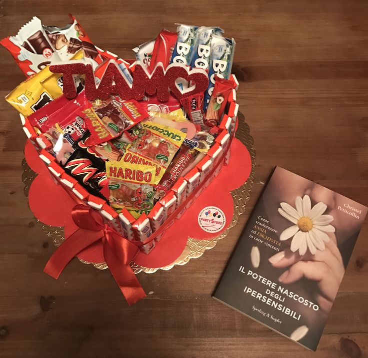 surprise my boyfriend, the most beautiful epiphany of my life, chocolate heart and book  I love you { S & S } ❤