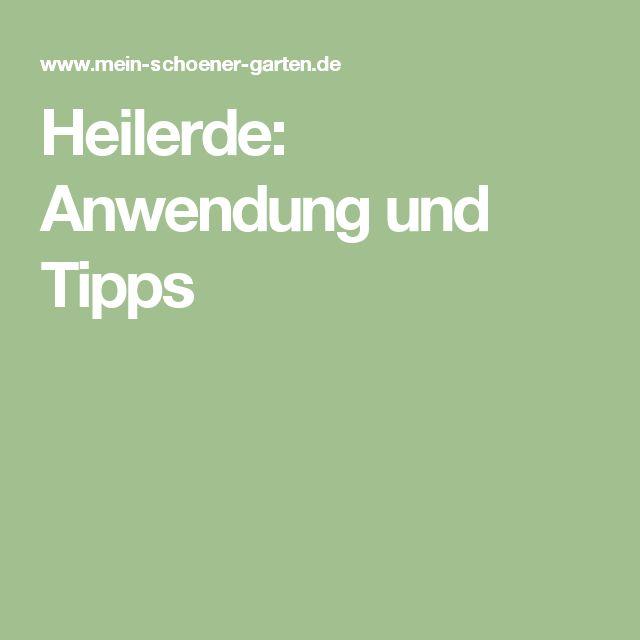 Heilerde: Anwendung und Tipps