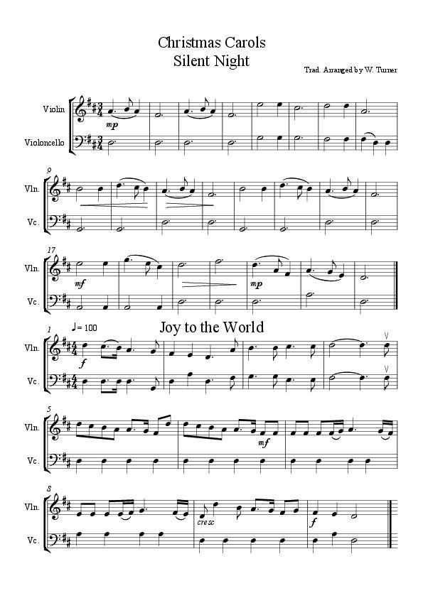 Christmas Piano Duet Sheet Music