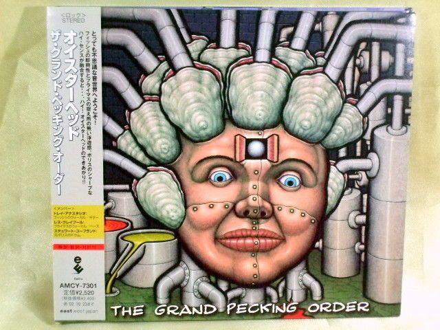 CD/Japan- OYSTERHEAD Grand Pecking Order w/OBI RARE Phish Primus Les Claypool #AlternativeRock