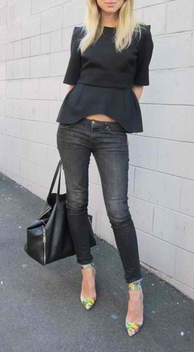 9 best images about Outfits for faded skinny jeans on Pinterest ...