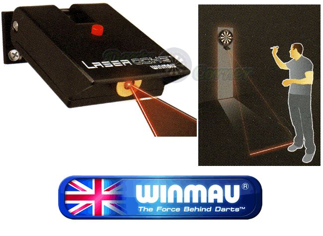 Dart Accessories - Winmau - Hi-Tech Laser Beam Throw Line Oche - Adjustable - <b>Laser Oche</b>