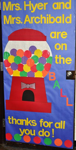 Teacher's door decoration