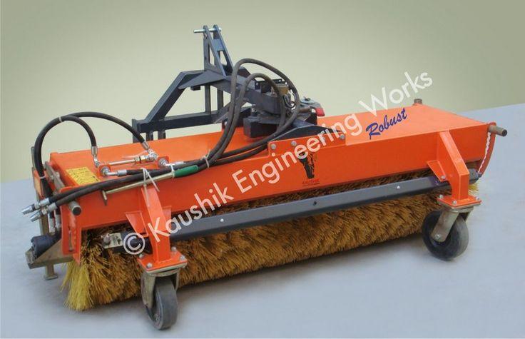 Hydraulic Road Sweeper Broom