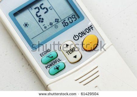 Air Conditioner Remote Control by MaverickLEE, via Shutterstock