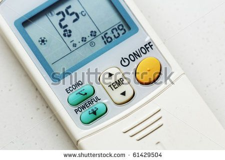 Air Conditioner Remote Control by MaverickLEE, via Shutterstock