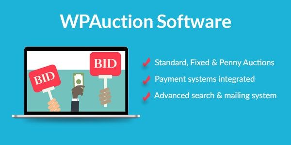 WordPress Auction Plugin To Create Best Penny Auction