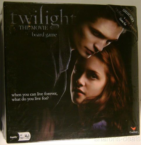 the twilight saga new moon the movie board game instructions