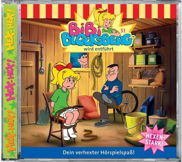 Hörbuch: Bibi Blocksberg 51 Wird Entführt  Von Elfie Donnelly,ulli Herzog,susanne Bonasewicz,hallgerd Bruckhaus, Audiobooki w języku niemieckim