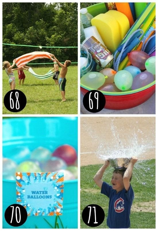 Summertime water games!