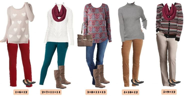 Want to look put together and stylish this winter without breaking the bank? Check out these new winter mix and match outfits from Kohls. I love the stripes