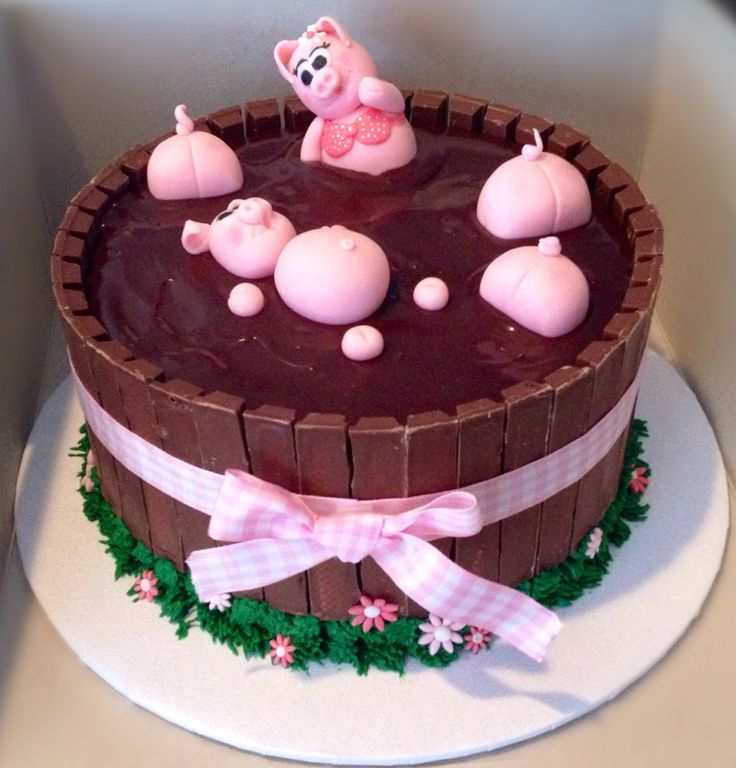 Pigs In Mud Cake Kit Kat Cake Pigs In Mud Cake Mud