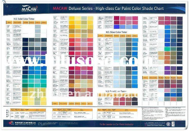 Pearl Auto Paint Colors Samples | valspar automotive paint ...