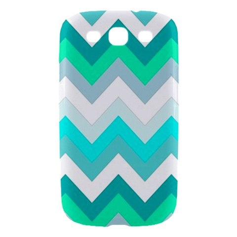 New Cool Chevron Pattern Samsung Galaxy S III Hardshell Case Cover Samsung Galaxy S3 Case. $18.00, via Etsy.