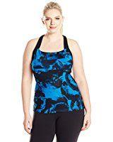 Champion Plus Vapor Active Tank Top 2X Black at Amazon Women's Clothing store: