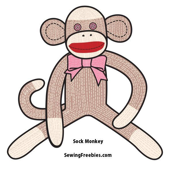 Sock Monkey Pattern - So wanna make a couple of these for my boys for christmas!