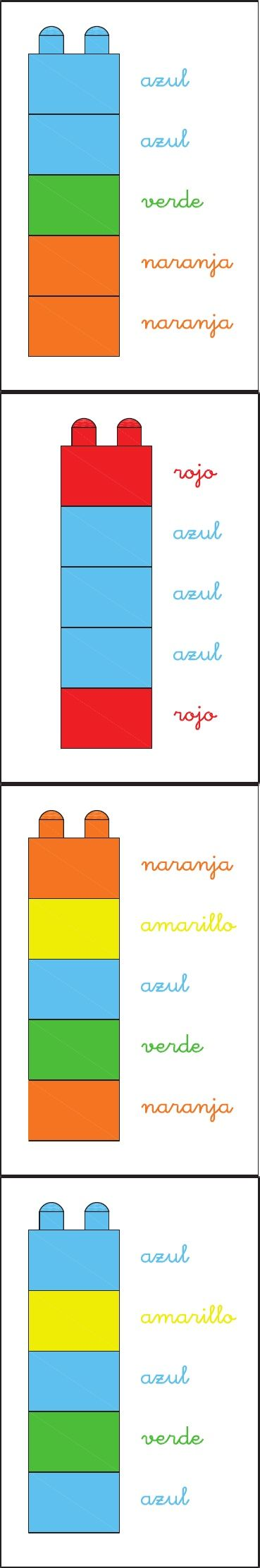 80 best COLORES images on Pinterest | Speech language therapy ...