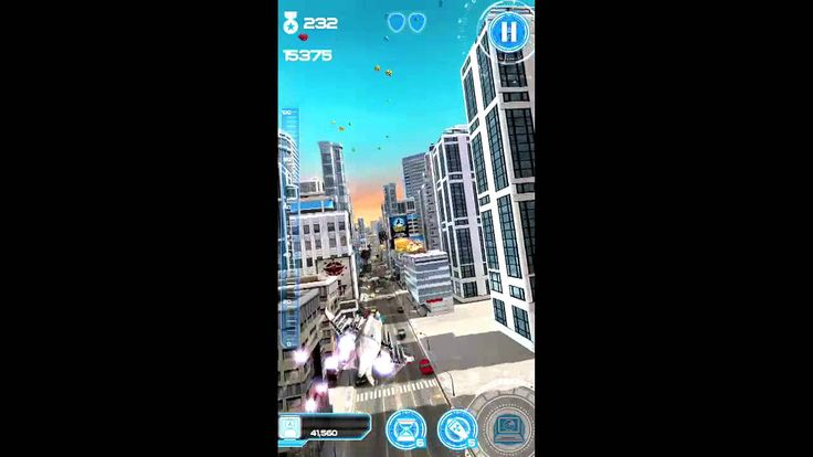 Jet Run: City Defender Android Gameplay