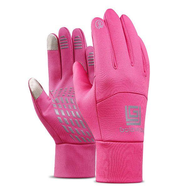 Men Women Warm Waterproof Windproof Touch Screen Ski Cycling Gloves Full Finger Outdoor Fleece Glove  #men #fashion #accessories