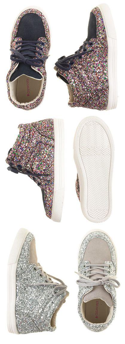 Glitter + Suede Sneakers (girls)