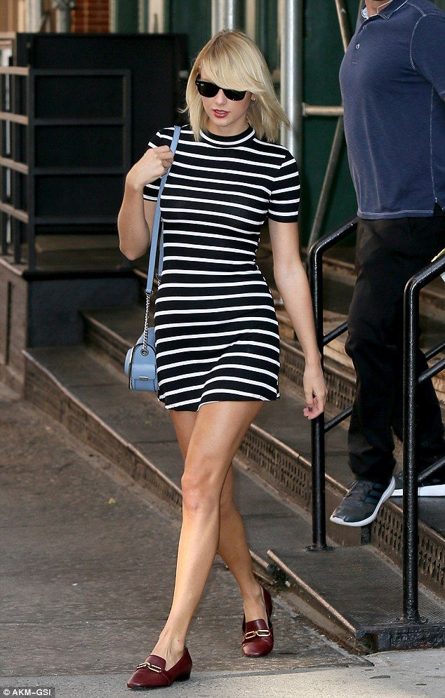 Leggy lady: Taylor Swift was seenout and about in New York City on…