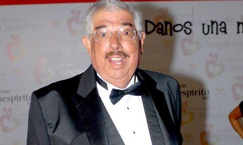 Rubén Aguirre, más conocido como el Profesor Jirafales de