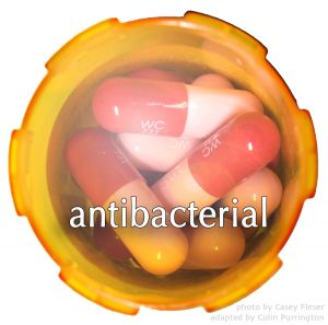 """Doctors are urged to stop prescribing antibiotics. They should prescribe """"antibacterials"""". The latter provides information. The former provides confusion. People, I don't care how much in love you are with the word, """"antibiotics"""".  Get over it -- it's really causing over-prescription of antibacterials.    http://colinpurrington.com/2013/evidence-based-antibiotic-usage/"""