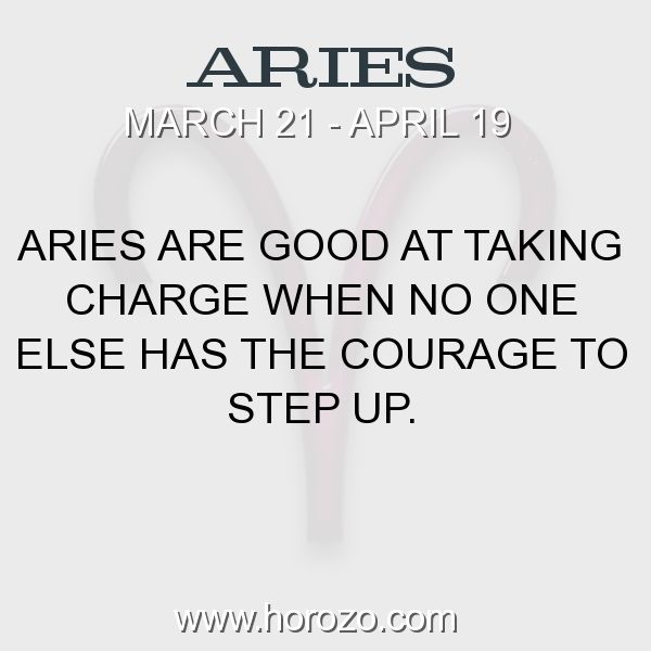 Fact about Aries: Aries are good at taking charge when no one else has the... #aries, #ariesfact, #zodiac. Astro Social Network:  https://www.horozo.com  Fresh Horoscopes:  https://www.horozo.com/daily-horoscope  Tarot Card Readings:  https://www.horozo.com/tarot-cards  Personality Test:  https://www.horozo.com/personality-type-test  Chinese Astrology:  https://www.horozo.com/chinese-horoscopes  Zodiac Compatibility:  https://www.horozo.com/partner-compatibility-by-zodiac-signs  Meanings of…