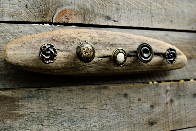 Want to do this as a drawer pull on a chest using only 1 knob though!