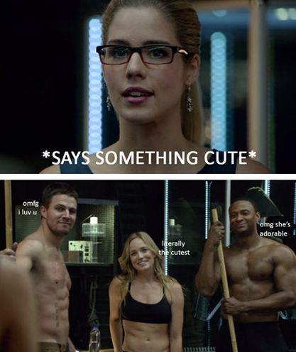 Arrow - Felicity Smoak ♥