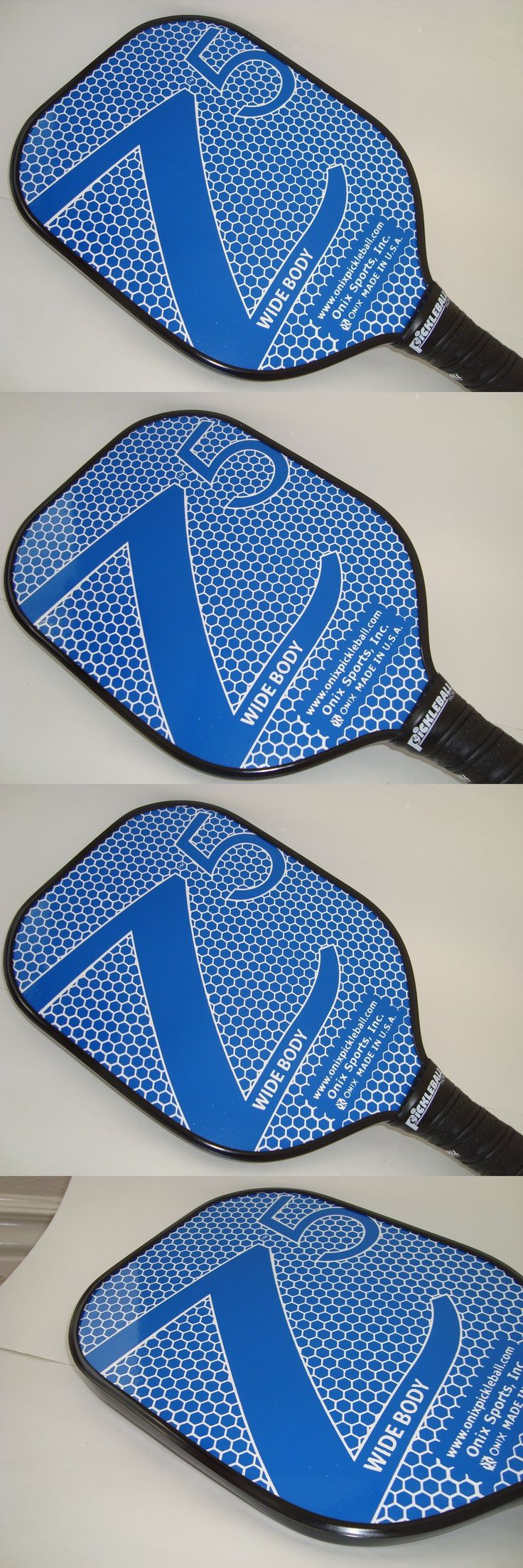 Other Tennis and Racquet Sports 159135: New Onix Z5 Composite Pickleball Paddle Nomex Core Light Durable Blue -> BUY IT NOW ONLY: $79.99 on eBay!