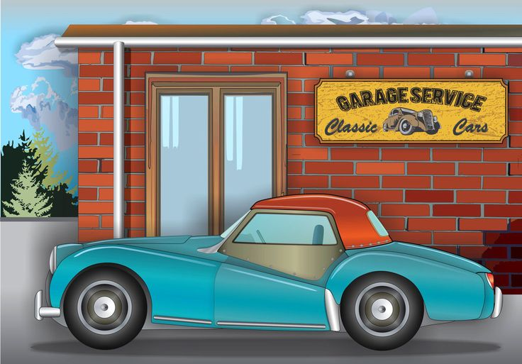 Classic car by ovidiuart.deviantart.com on @DeviantArt