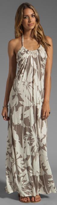 Orville Corfu Dress in Cameo