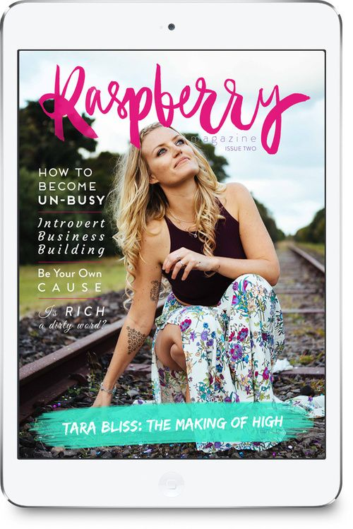 Raspberry Magazine - Issue Two with Tara Bliss on the cover! Available for instant download now :)