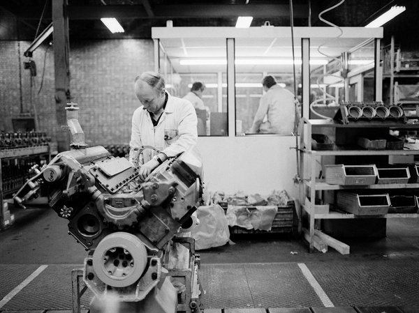 Machinist Cummins Engines, Darlington. 8th May 1980. Richard Grassick.http://www.amber-online.com/